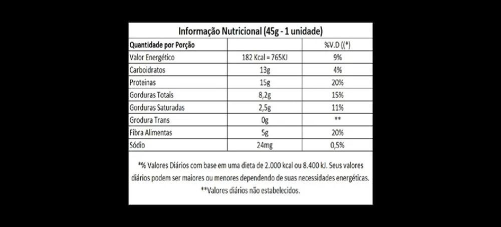 Barra de Proteína Hot Bar Cx C/9 Uni - Hot Fit
