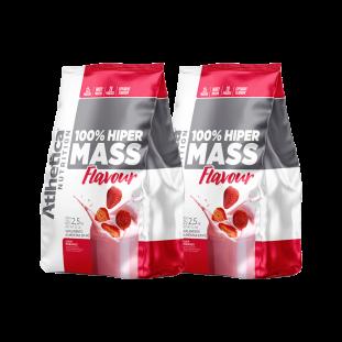 2x 100% Hiper Mass Flavour 2,5Kg - Atlhetica Nutrition