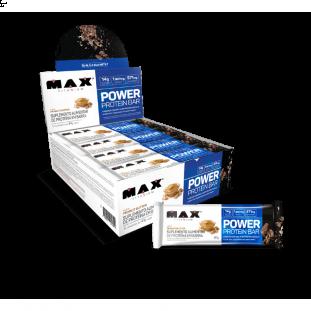 Barra Protéica Power Protein Bar 12 Uni - Max Titanium