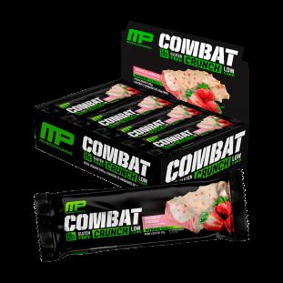 Barrinha de Proteína Combat Crunch Cx C/ 12 Uni - MusclePharm