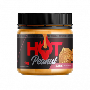 Pasta de Amendoim Hot Peanut Basic 1Kg - Hot Fit