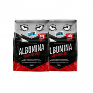 2x Albumina Desidratada 500g - Proteina Pura