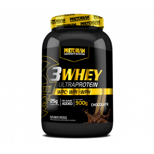 Whey Protein 3 Whey Ultra Protein 900g - Pretorian
