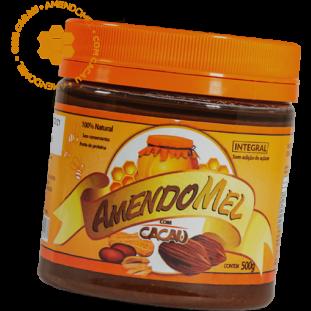 Pasta de Amendoim Amendomel 500g - Thiani Alimentos