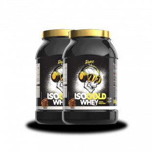 COMBO - 2x Whey Protein Isolado Gold Caveira 800g - Rebel Nutrition