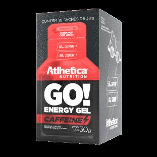 Go! Energy Gel Caffeine 10 Unidades - Atlhetica Nutrition