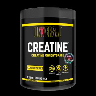 COMBO - Creatina Monohidratada 1Kg - Universal Nutrition