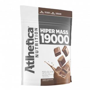 Hipercalórico Massa Hiper Mass 19000 3,2kg - Atlhetica Nutrition