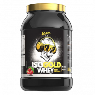 Whey Iso Gold Caveira 800g - Rebel Nutrition
