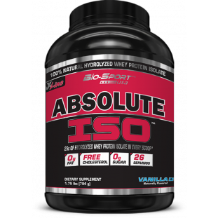 ABSOLUTE ISO WHEY BIO SPORT 900g
