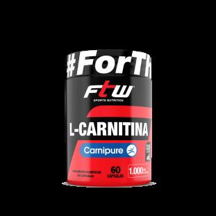 L-Carnitina Carnipure 60 Cáps - Ftw