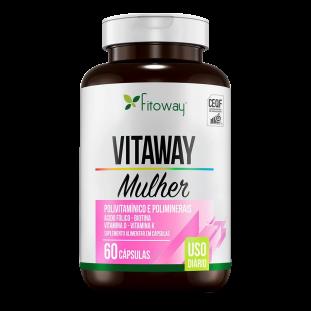Multivitamínico Vitaway Mulher 60 Cáps - Fitoway