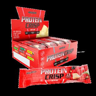 Barra de Proteína Protein Crisp 12un 45g - Integralmédica
