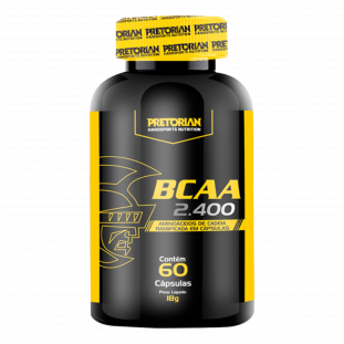 BCAA 2400 60 Caps - Pretorian
