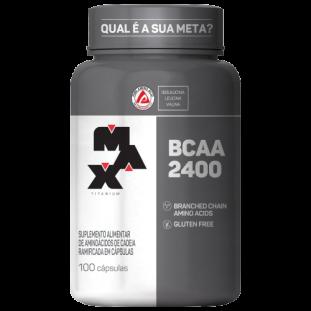 BCAA 2400 100 Cáps - Max Titanium
