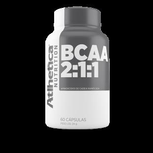 BCAA Pro Series 2:1:1 60 Cáps - Atlhetica Nutrition
