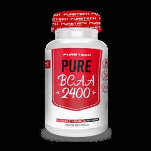 BCAA Pure 2400 120 Caps - Puretech