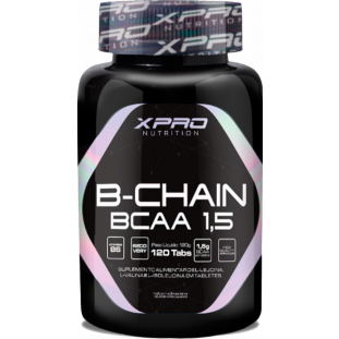 B-CHAIN BCAA 1,5G XPRO NUTRITION 120 tabs