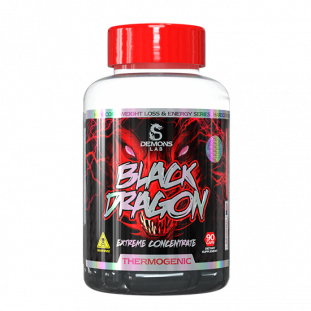 TERMOGÊNICO BLACK DRAGON DEMONS LAB 90 caps