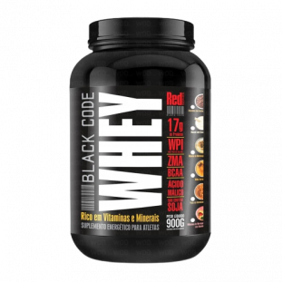 Whey Protein Black Code 900g - Red Series