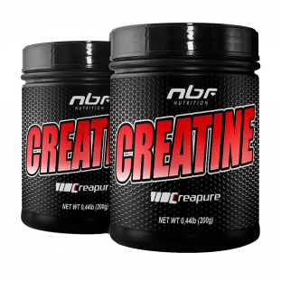 2x Creatina Creapure 200g - NBF Nutrition