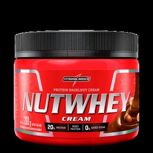 Creme de Avelã NutWhey Cream 200g - Integralmédica