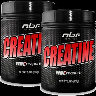 COMBO - DOUBLE CREATINE CREAPURE NBF 200g