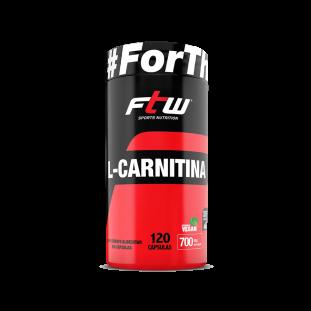 L-Carnitina 120 Cáps - FTW