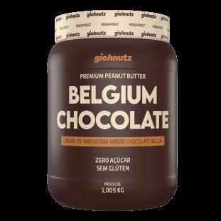 PASTA DE AMENDOIM CHOCOLATE BELGA GIOHNUTZ 1,005kg