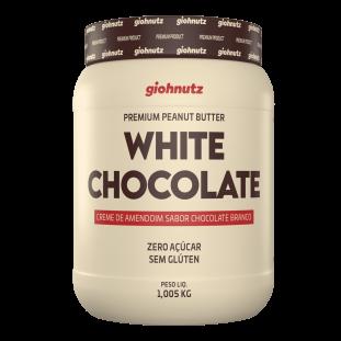 PASTA DE AMENDOIM CHOCOLATE BRANCO GIOHNUTZ 1,005kg
