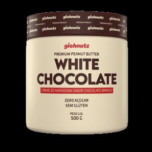 PASTA DE AMENDOIM CHOCOLATE BRANCO GIOHNUTZ 500g