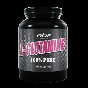 Glutamina L- Glutamine 100% Pura 1Kg - NBF Nutrition