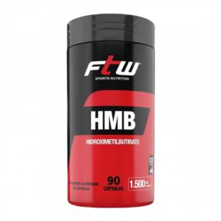 HMB Hidroximetilbutirato 500mg 90 Cáps - FTW