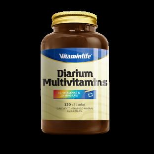 Multivitamínico Diarium Multivitamins 120 Cáps - Vitaminlife