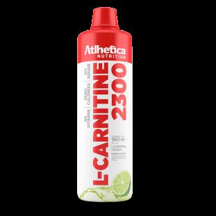 L-Carnitina 2300 960ml - Atlhetica Nutrition