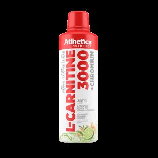 L-Carnitina 3000 480ml - Atlhetica Nutrition