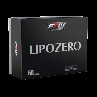 Termogênico Emagrecedor Lipozero 60 Cáps - FTW