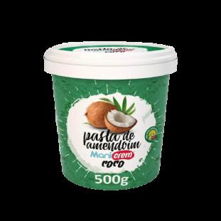 Pasta de Amendoim Integral ManiCream 500g - Manibi-Coco