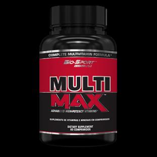 Multivitamínico Multi Max 60 Tabs - Bio Sport USA