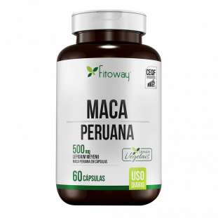 Maca Peruana 500mg 60 Cáps Vegetais - Fitoway