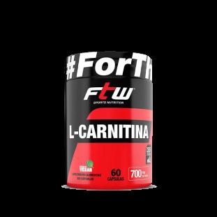 L-Carnitina 60 Cáps - Ftw