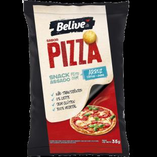 Snack de Arroz Sabor Pizza 35g - Belive Be Free