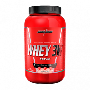 Whey Protein Super Whey 3W 907g - Integralmédica