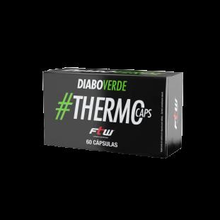 Termogênico Emagrecedor Diabo Verde #ThermoCaps 60 Caps Blister - FTW