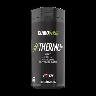 Termogênico Emagrecedor Diabo Verde Extremo #ThermoCaps 60 Caps - FTW