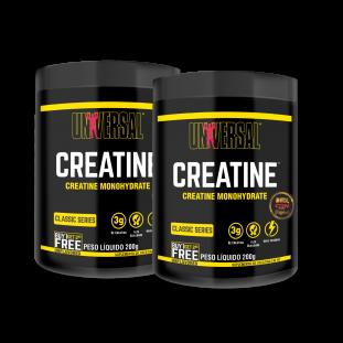 2x Creatina Monohydrate 200g - Universal Nutrition