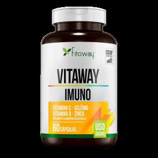 Vitamina C e D Imuno Vitaway 60 Caps - Fitoway