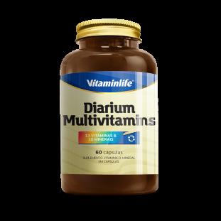 Diarium Multivitamínico 60 Cáps - Vitaminlife