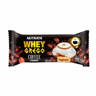 WHEY GREGO BAR COFFEE CREAM NUTRATA 40g