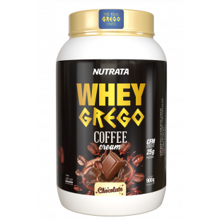 WHEY GREGO COFFEE CREAM NUTRATA 900g